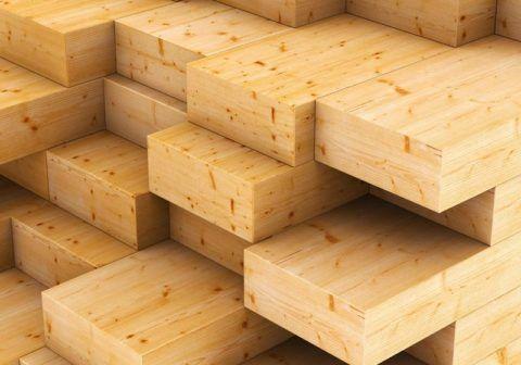 Подбор пиломатериалов под монтаж деревянной лестницы