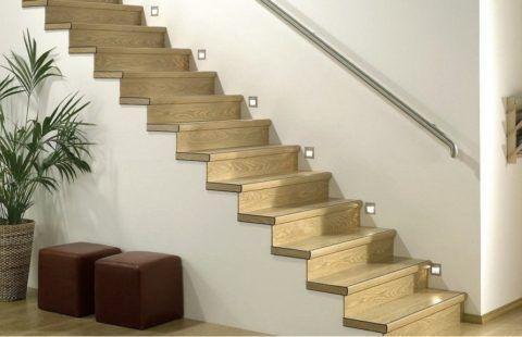Покрытие лестницы ламинатом