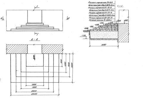 Пример чертежа крылечной лестницы