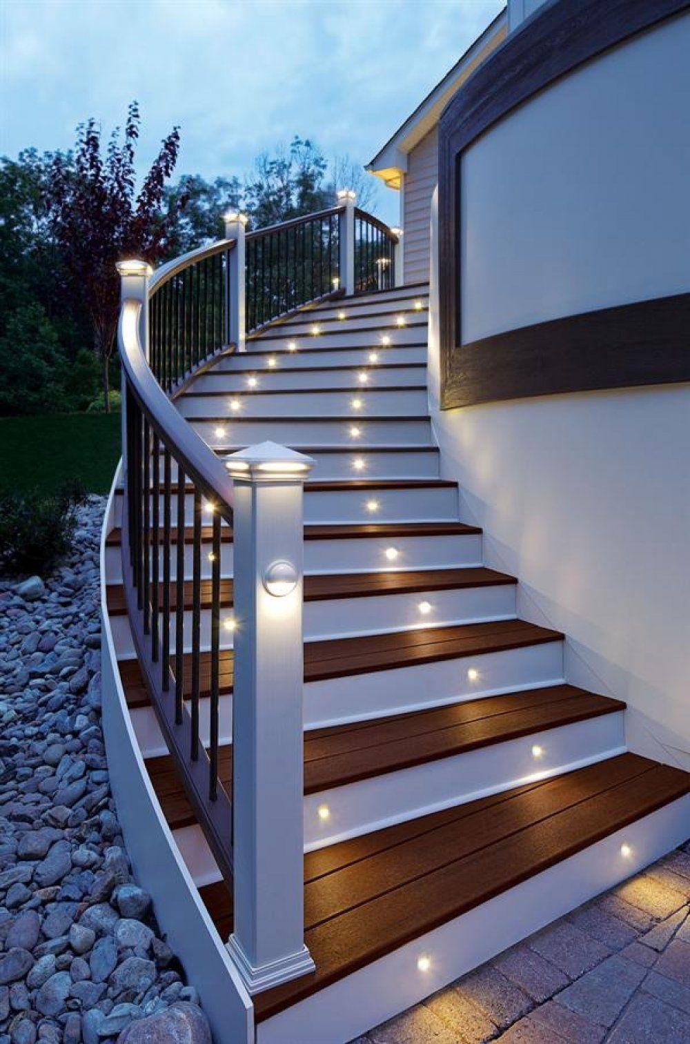 Лестницы бетонные с отделкой