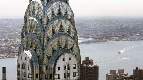 Башня Крайслер Билдинг: геометрический узор, выполненный из стали, стекла и бетона, завораживает неповторимой игрой света