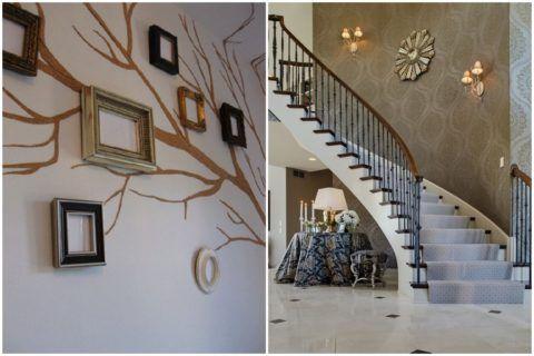 Декоративные панно на стенах