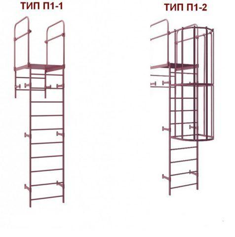 Два вида типовых конструкций