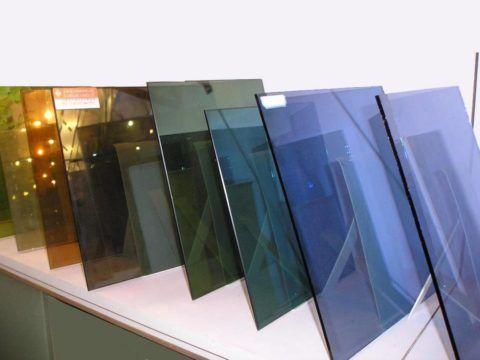 Энергосберегающее оконное тонированное стекло