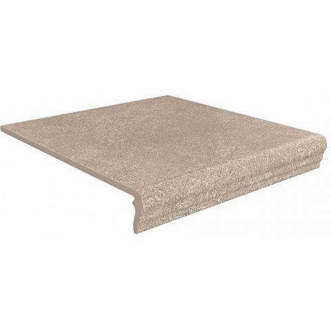 Фронтальная плитка для отделки проступи с литым капиносом