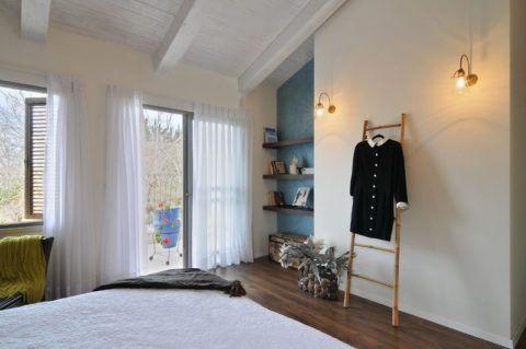 Использование лестницы в спальне