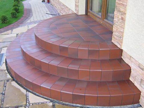 Крыльцо самодельное из бетона
