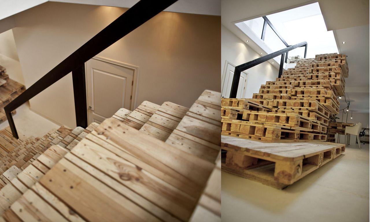 лестница из поддонов своими руками фото колпакова