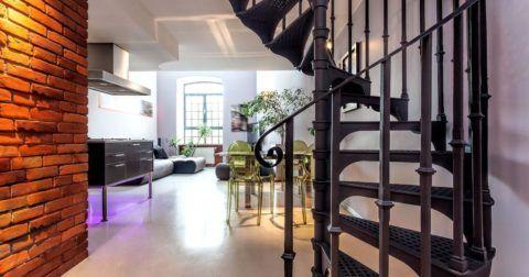Лестницы на второй этаж: лофт в современном прочтении