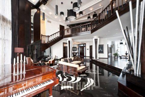 Лестницы в стиле ар-деко: не важно, из чего и как это сделано, но выглядеть должно очень дорого