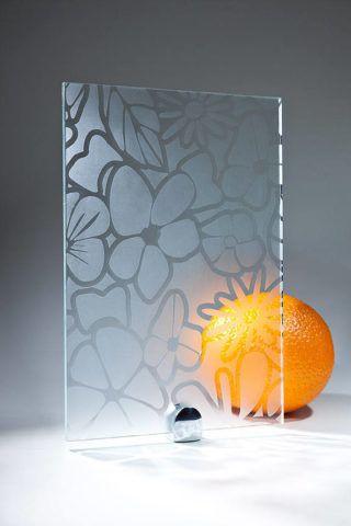 Матовая пленка для стекла с рисунком