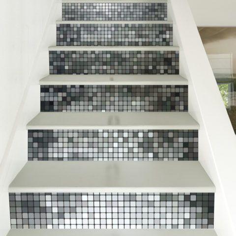 Плитка для облицовки бетонной лестницы