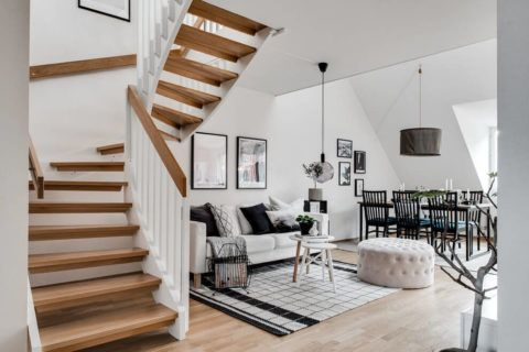 Скандинавский стиль –дом, наполненный светом