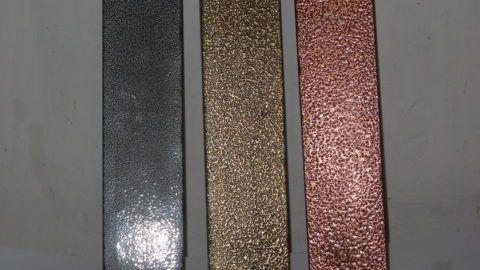 Варианты окраски металла порошковой краской