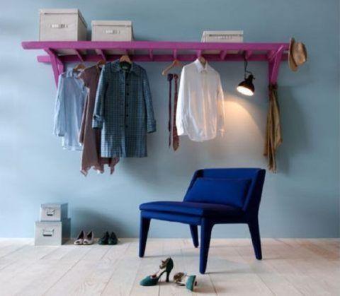 Вешалка в гардеробной