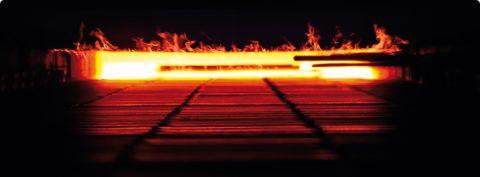 Высокотемпературный обжиг придает керамограниту особую прочность