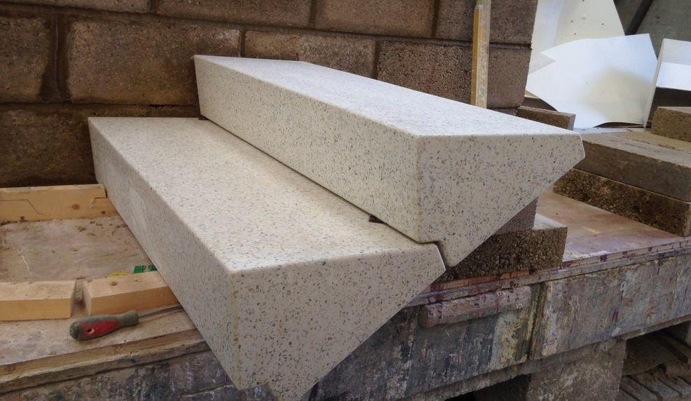 Лестничные ступени из бетона плиты перекрытия в алматы