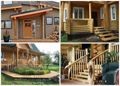 Деревянная конструкция универсальна тем, что может иметь как традиционное, так и современное исполнение
