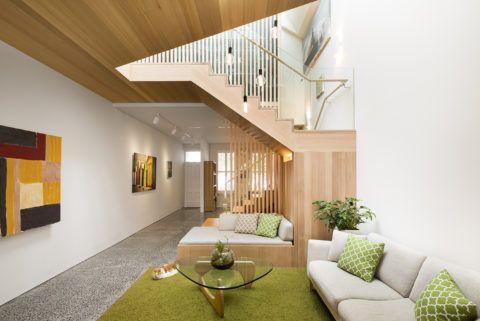 Использование подмаршевого пространства в качестве места для отдыха