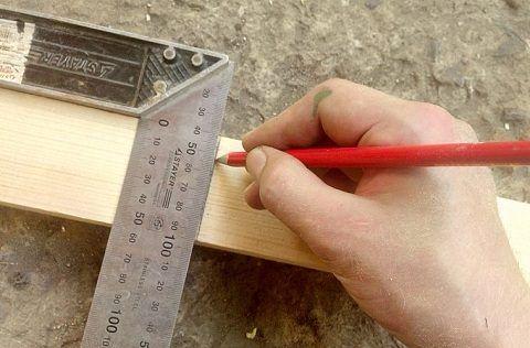Изготовление верхней и нижней ступеней
