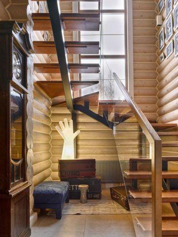 Комбинация из металла, стекла и дерева – современное прочтение стиля