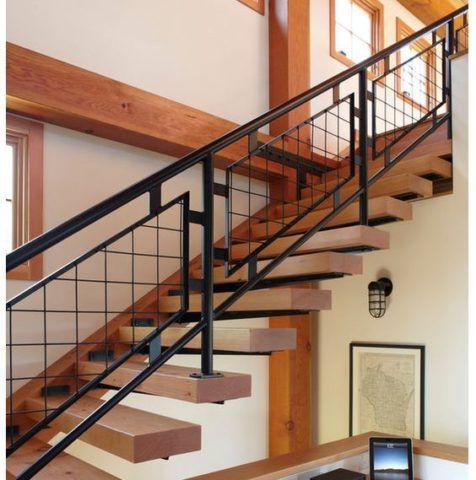 Консольный вариант кантри лестницы