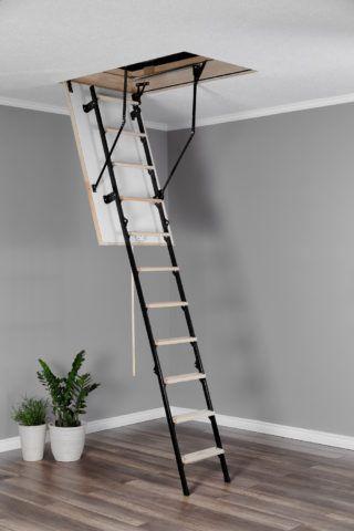 Лестница с деревянными ступенями Oman Stallux