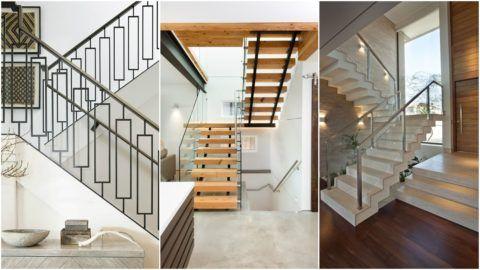 Лучшие современные лестницы – двухмаршевые с поворотными площадками