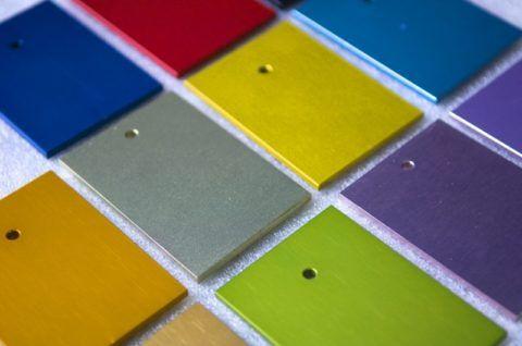 Образцы порошковой краски