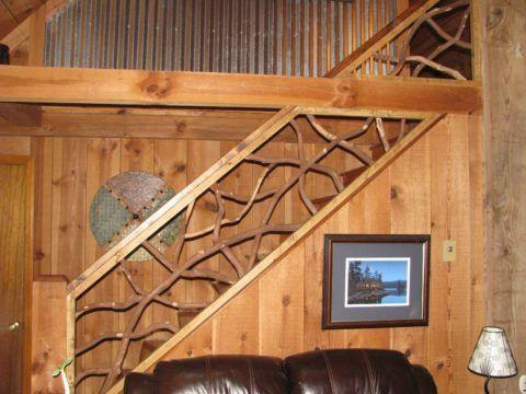 Ограждения маршевой лестницы