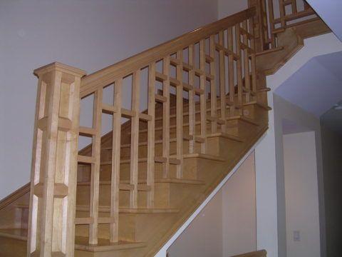 Ограждения межэтажной лестницы
