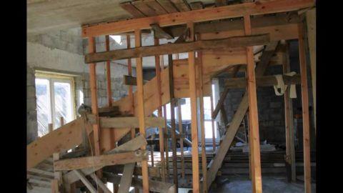 Опалубка винтовой лестницы из бетона своими руками