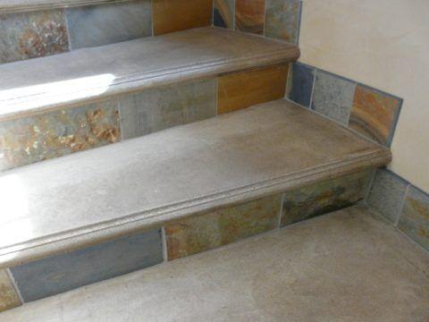 Подготовка бетонной лестницы