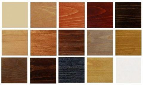 Разновидности видов текстур древесины