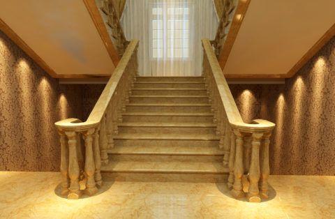 Роскошная мраморная лестница