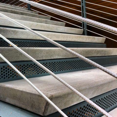 Сборные ступени из бетона