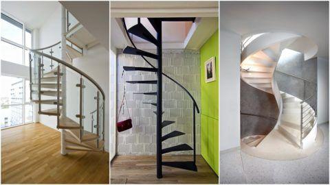 Современные лестницы на второй этаж