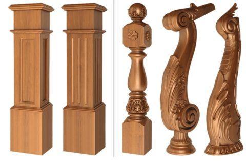 Типовые и эксклюзивные варианты столбов