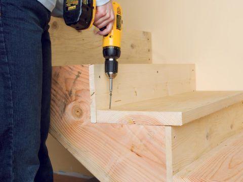 Устройство деревянной лестницы своими руками