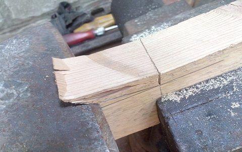 Выборка лишней древесины