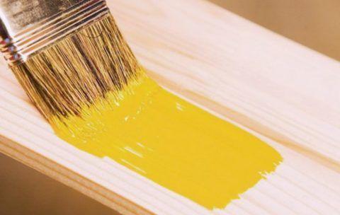 Алкидные краски обладают ярким насыщенным цветом