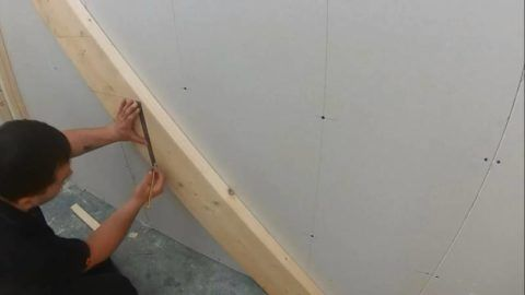 Деревянные лестницы для погреба – разметка под ступени