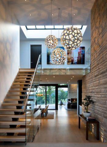 Дизайн прихожей и лестницы в современном стиле