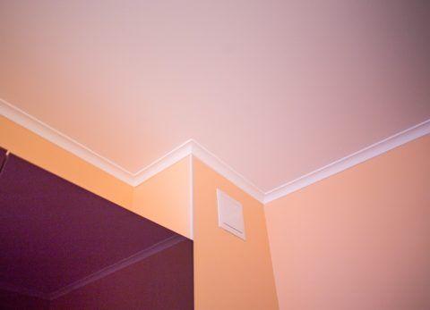 Побелка на потолке