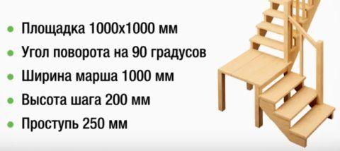 Примерный вариант конструкции