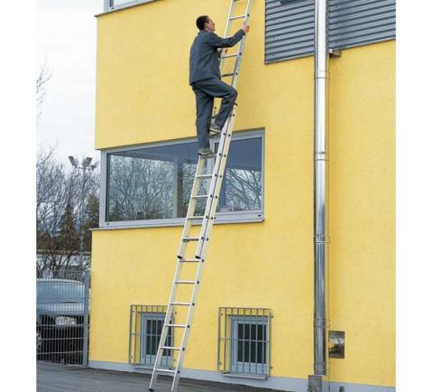 Раздвижная телескопическая лестница