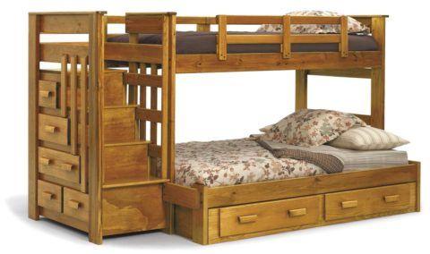 Ступеньки на двухъярусной кровати