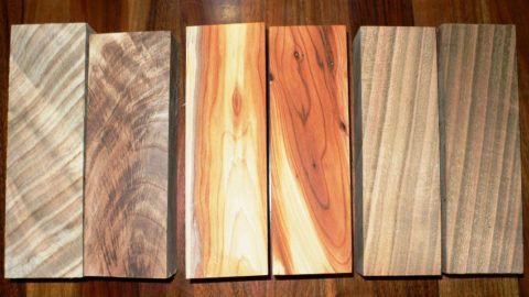 Учтите и то, что цвет и рисунок у разных сортов дерева отличаются