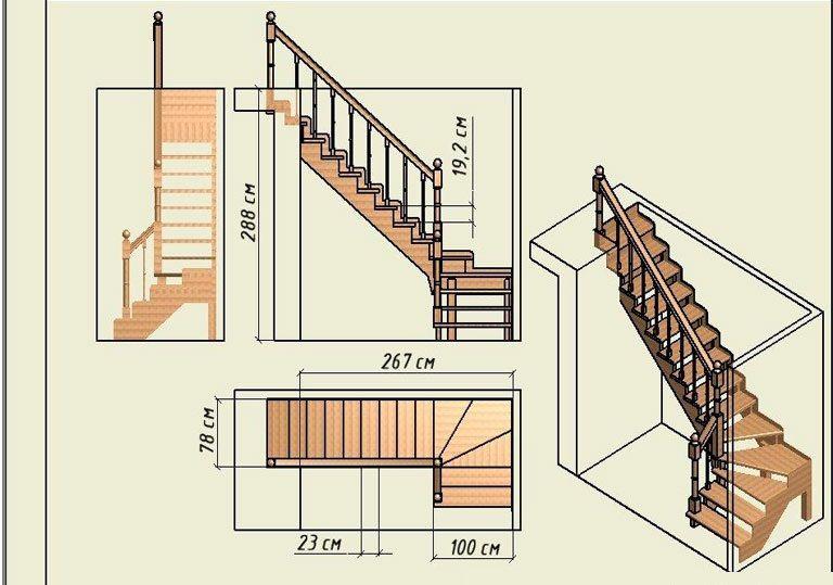 Скачать программу расчета лестниц