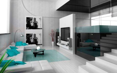 Хай-тек стиль в интерьере дома